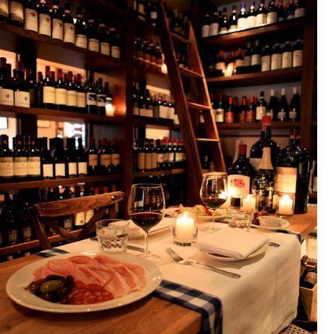 Maialino Private Dining Room Wine Cellar Tasting Room
