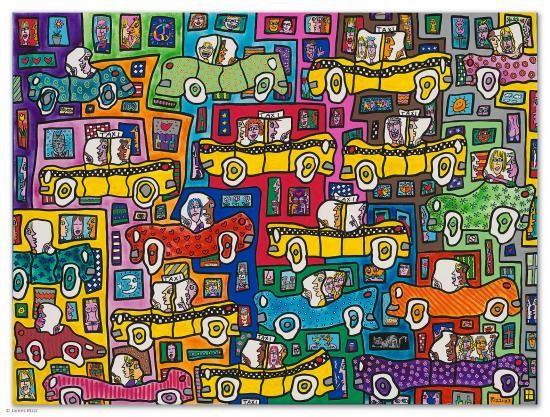 Art Loft 3 D Pop Art James Rizzi Art Loft Pop Art Art Lessons