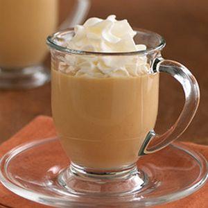 Most Pinnable: Joyful Desserts | Caramel Spiced Eggnog  | MyRecipes.com