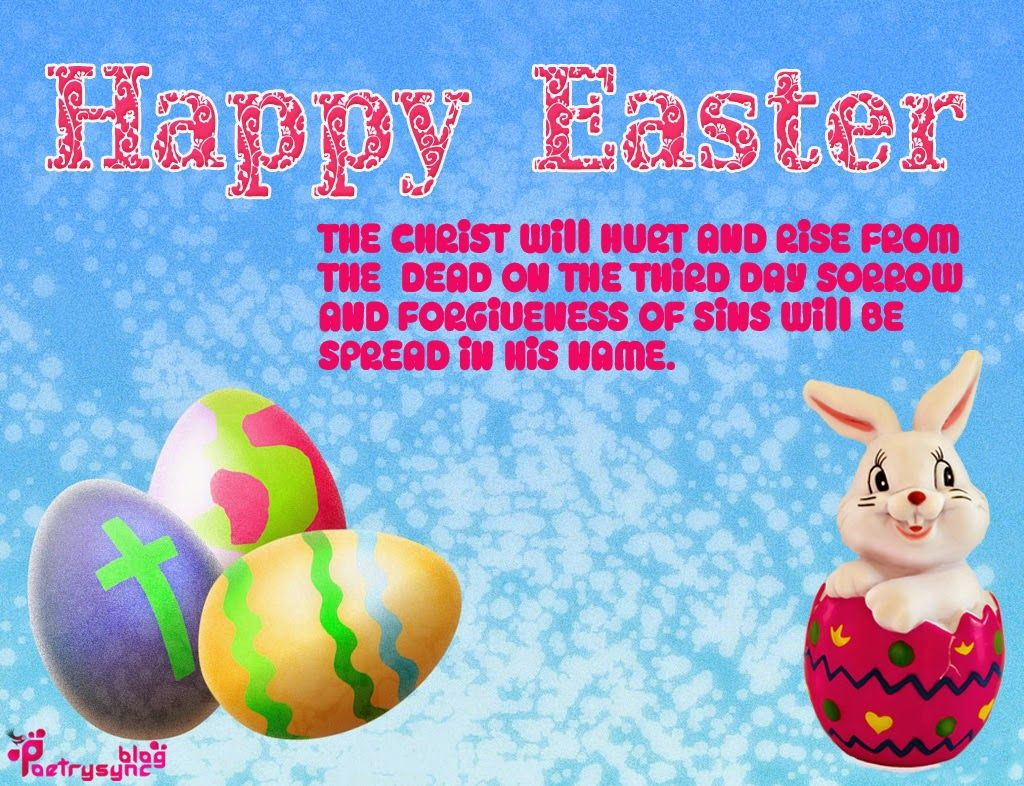 Happy easter day quotes easter pinterest happy easter happy easter wishes quotes pictures and greetings kristyandbryce Gallery