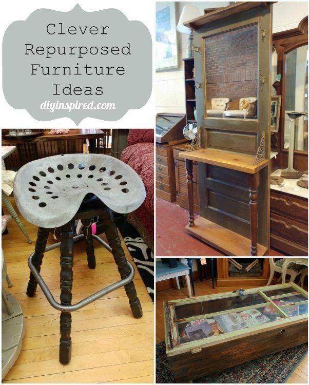Clever Repurposed Furniture Ideas