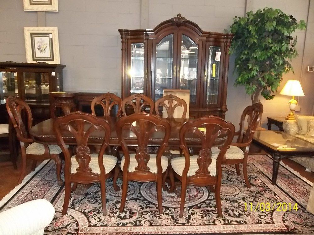 Bernhardt Grand Savannah Dining Room Set Aol Image Search