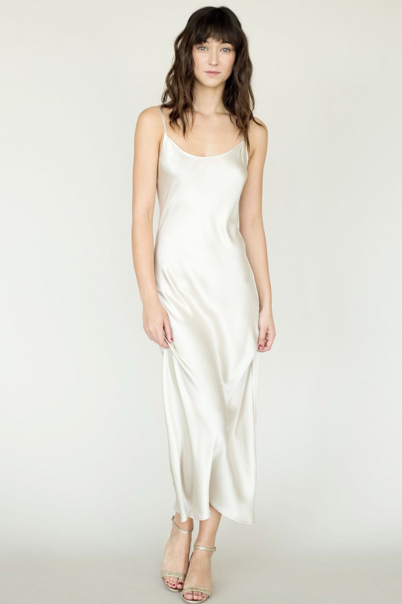 Simple non traditional wedding dresses plus size dresses for