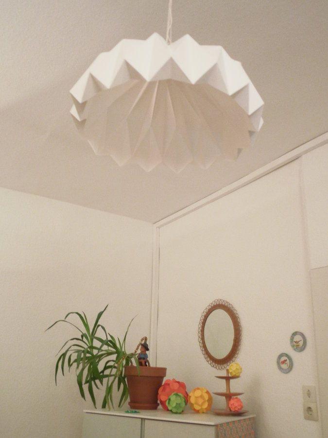 Diy Origami Test Lampe Sculpt Origami Lampe Diy Origami