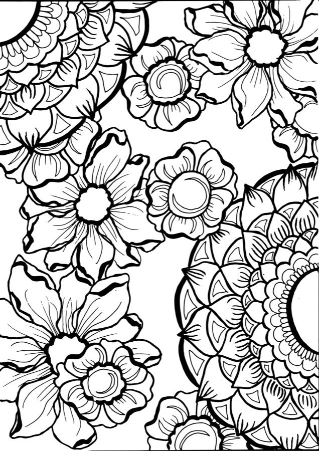 Mandala Tattoo Design Flower Vectors To Download