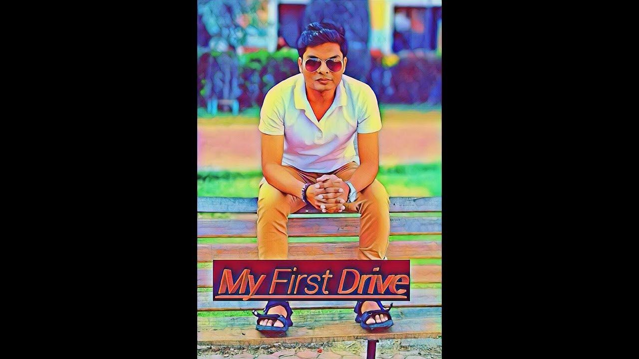drived first time ye video mere driving k bare me haimaine