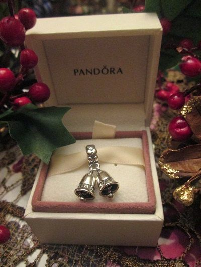 Authentic Pandora Charm For Bracelet Christmas SILVER BELLS on Etsy, $22.51