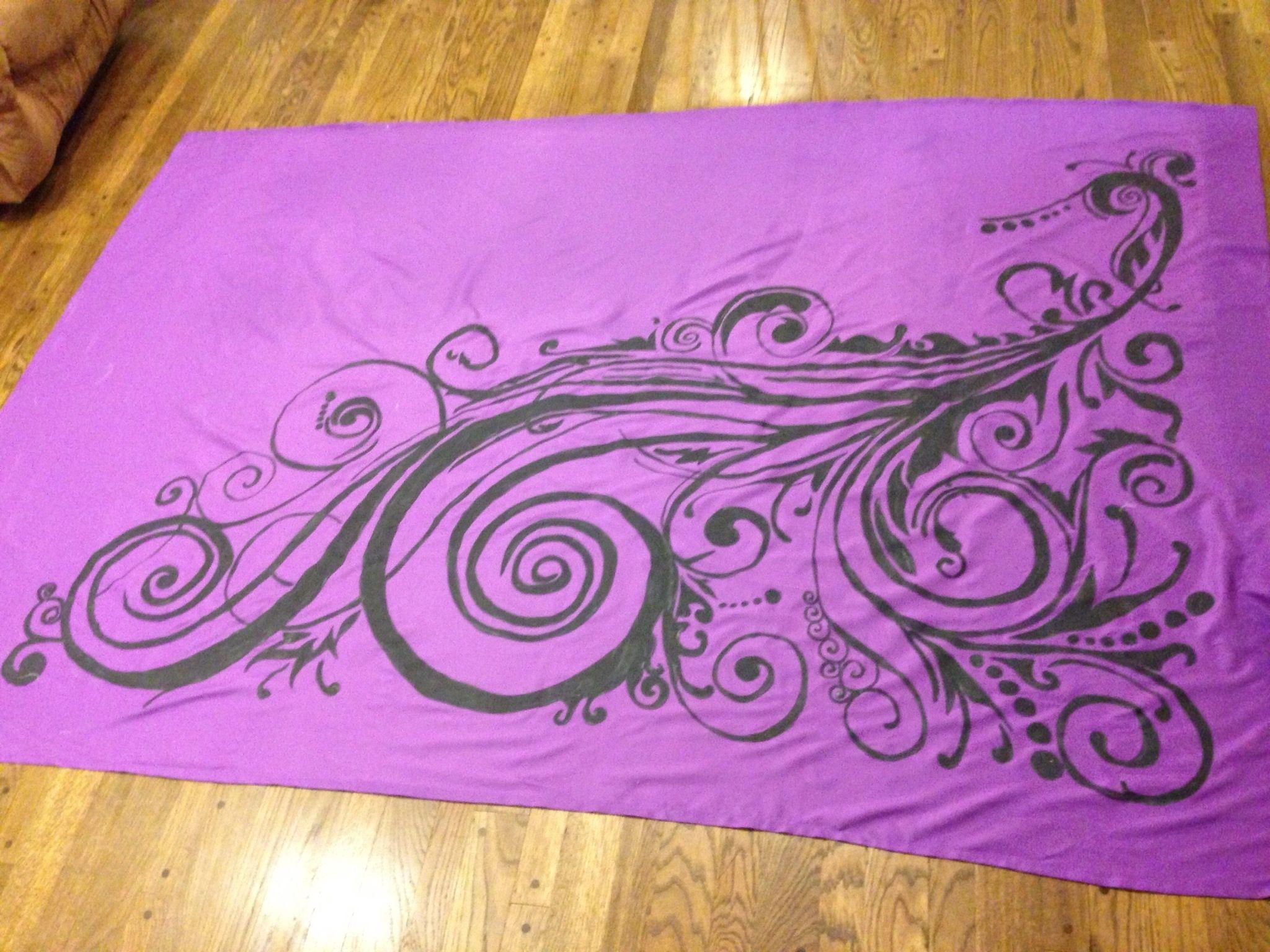 Fabric Painting Curtains Bbcbdfebddb