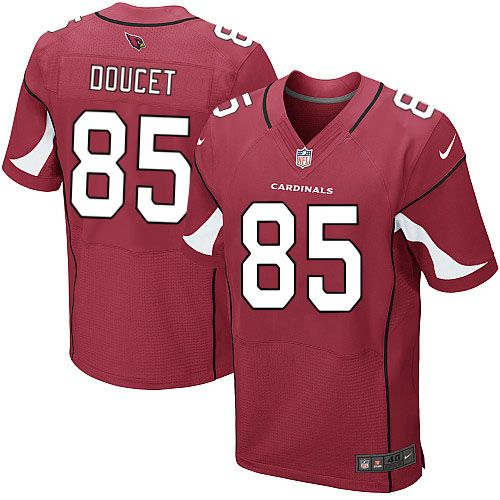 men nike arizona cardinals 85 early doucet elite red team color nfl jersey sale