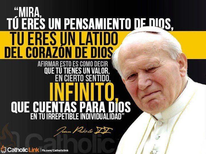 Juan Pablo Ii Papa Juan Pablo Ii Jesucristo Es Dios Y