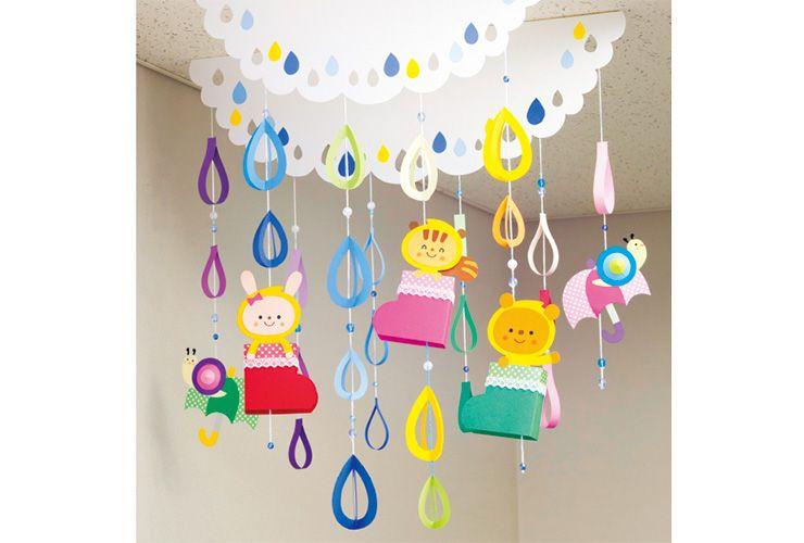 装飾 おしゃれまとめの人気アイデア Pinterest Manami あじさい クラフト クラスの装飾 七夕飾り 保育園