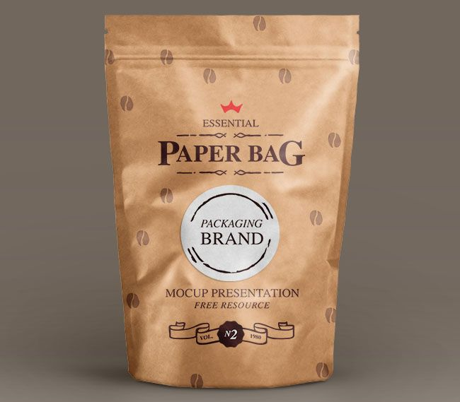 Download Paper Bag Template Mockup Psd Free Packaging Mockup Paper Bag Mockup Design