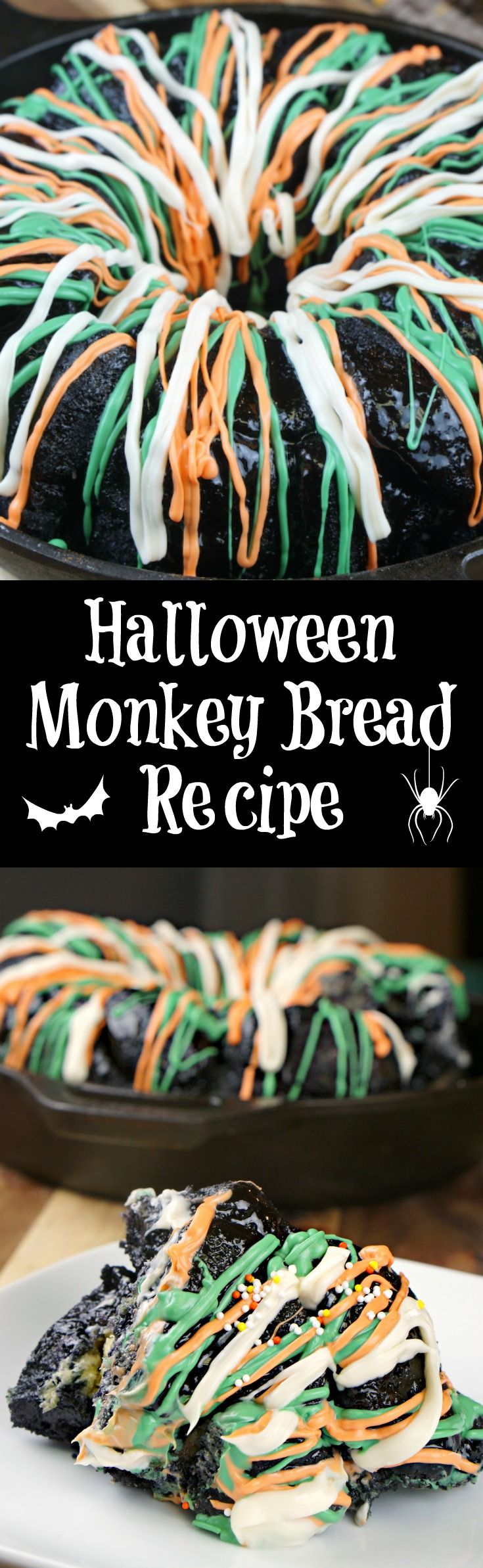 Simple Monkey Bread Recipe for Halloween - DIY Candy
