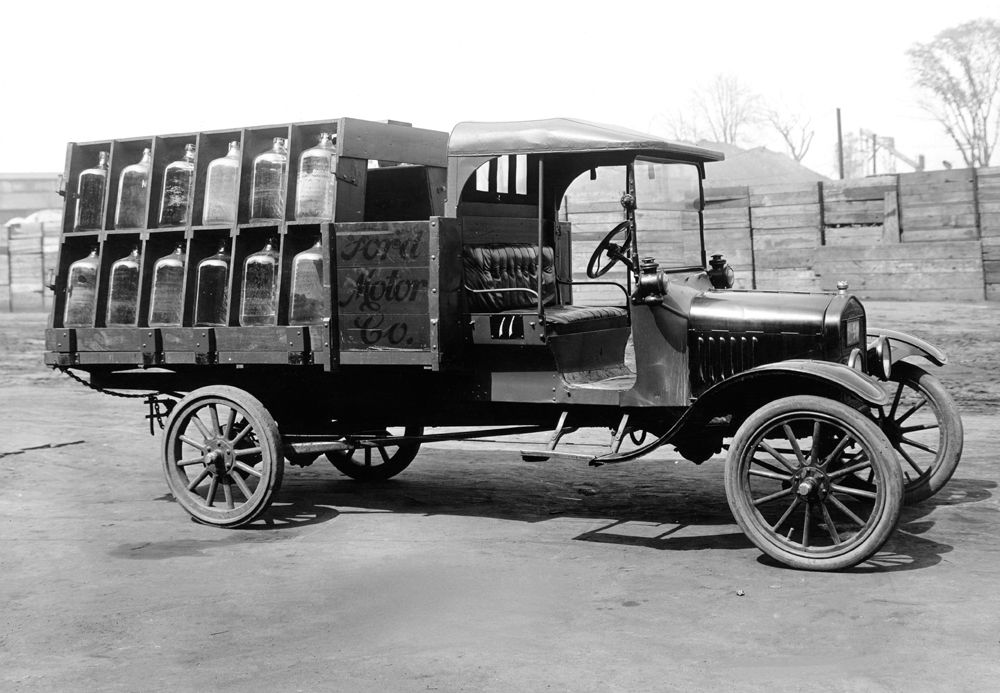 1924 Model T Truck: The Model T provided the most robust ...