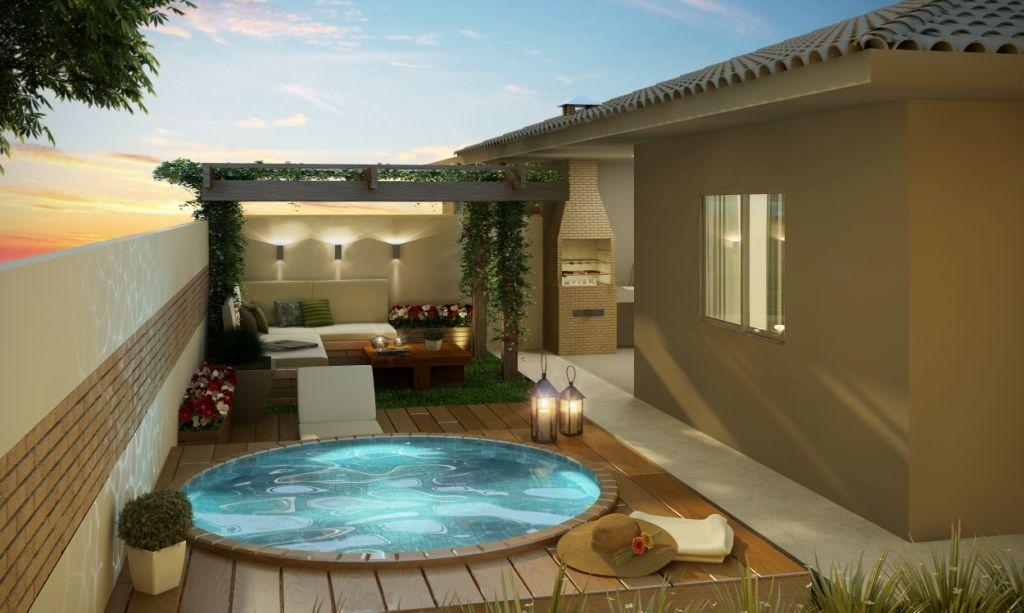 Quintal pequeno com piscina pesquisa google futura for Jacuzzi en patios pequenos