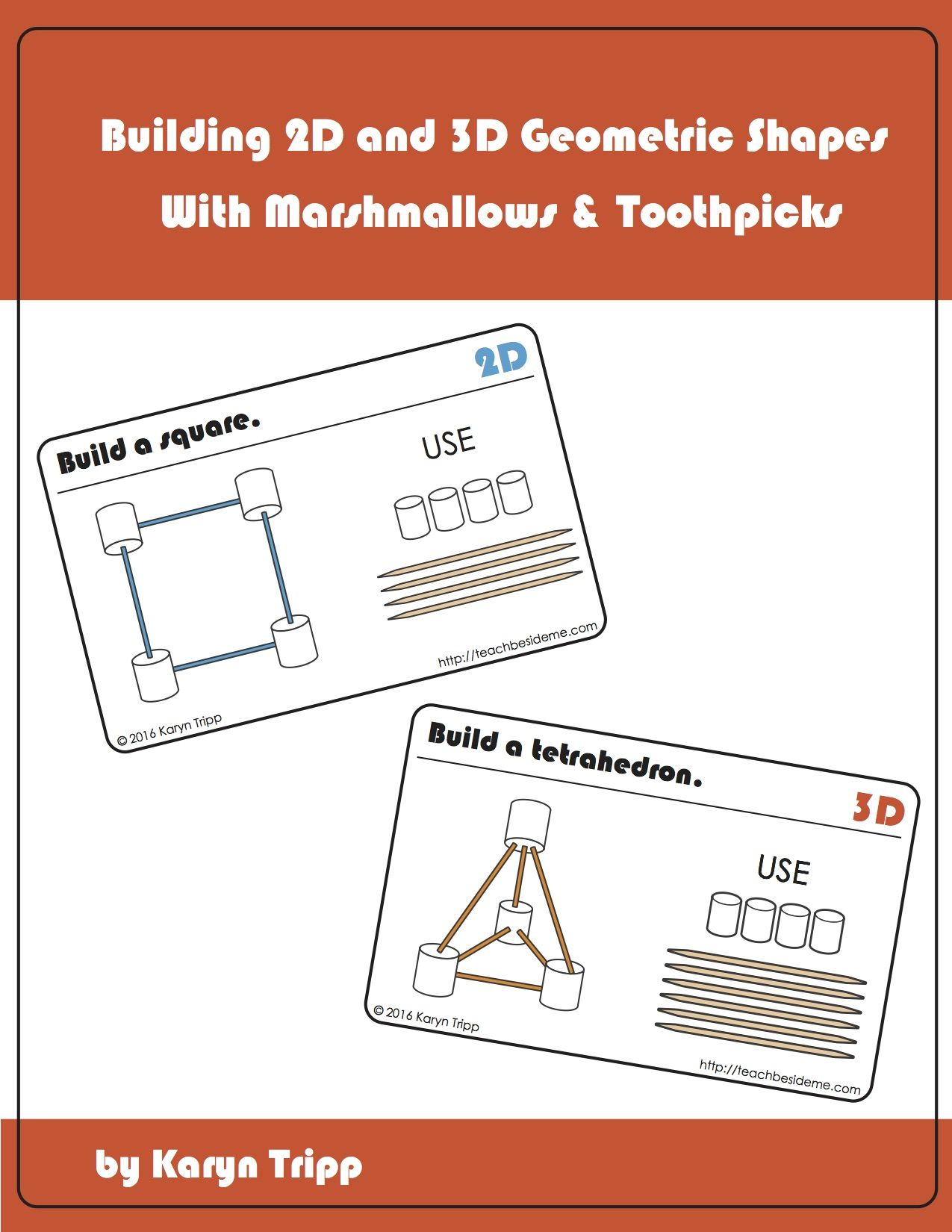 Marshmallow Toothpick Geometry Math Activities Pinterest