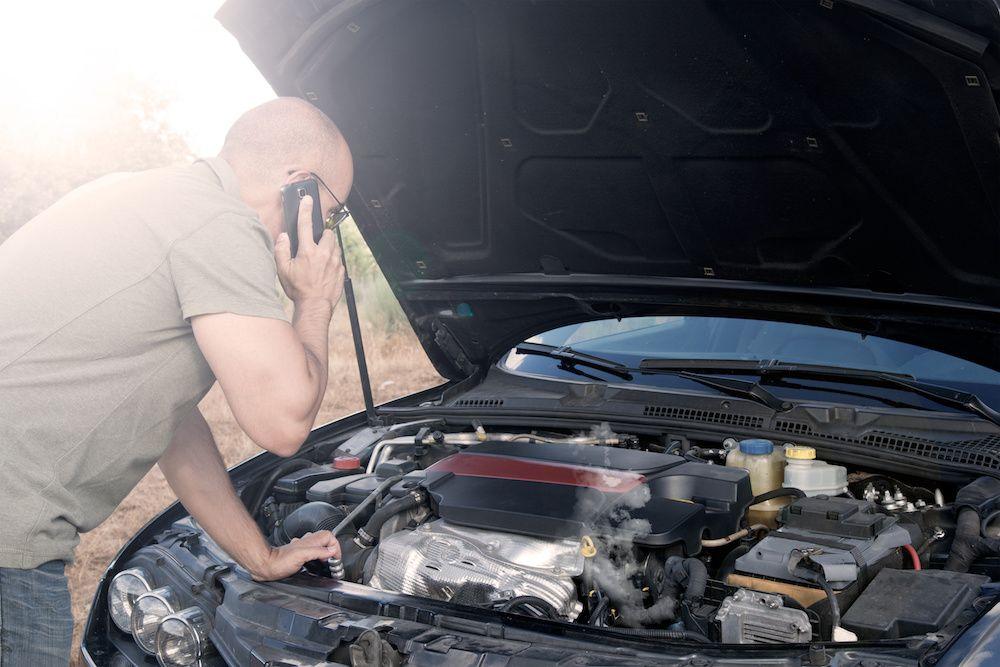 How to replace a damaged rad iator car radiator