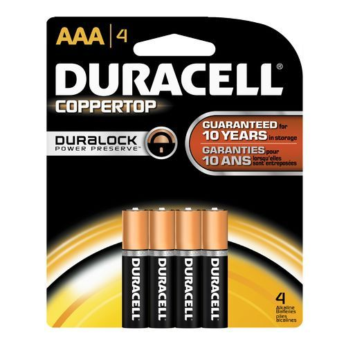 Duracell Coppertop Aaa Batteries 4 Pack 000 Camping Equipment Batteries And Bulbs At Academy Sports Duracell Duracell Batteries Alkaline Battery