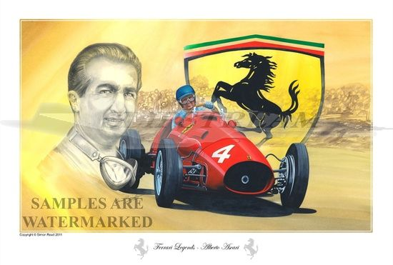 Alberto Ascari a forgé un partenariat gagnant avec Enzo Ferrari #ForzaFerrari #f1