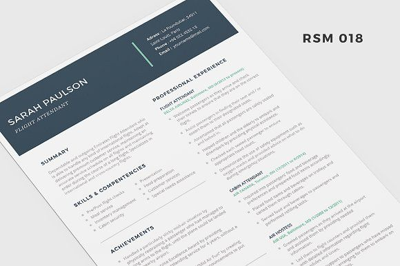 Photographer Resume - PSD Template by Cursive Q Designs on - resume for photographer