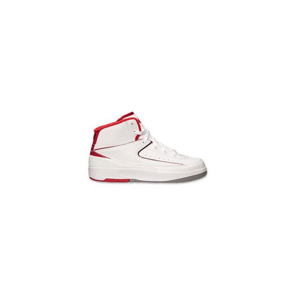 Boys' Preschool Air Jordan Retro 2 Basketball Shoes ($40) ❤ liked on Polyvore featuring jordans, air jordan 2 and finishline