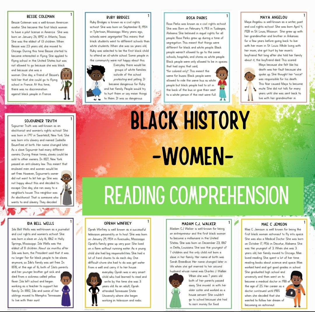 Black History Month Activities Black History Worksheets Reading Made By Teachers In 2021 Writing Response Black History Month Activities Black History Reading [ 1067 x 1080 Pixel ]