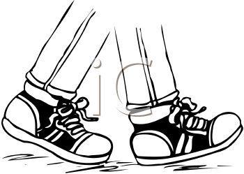 Children Walking Feet Clip Art Clipart Panda Free Clipart