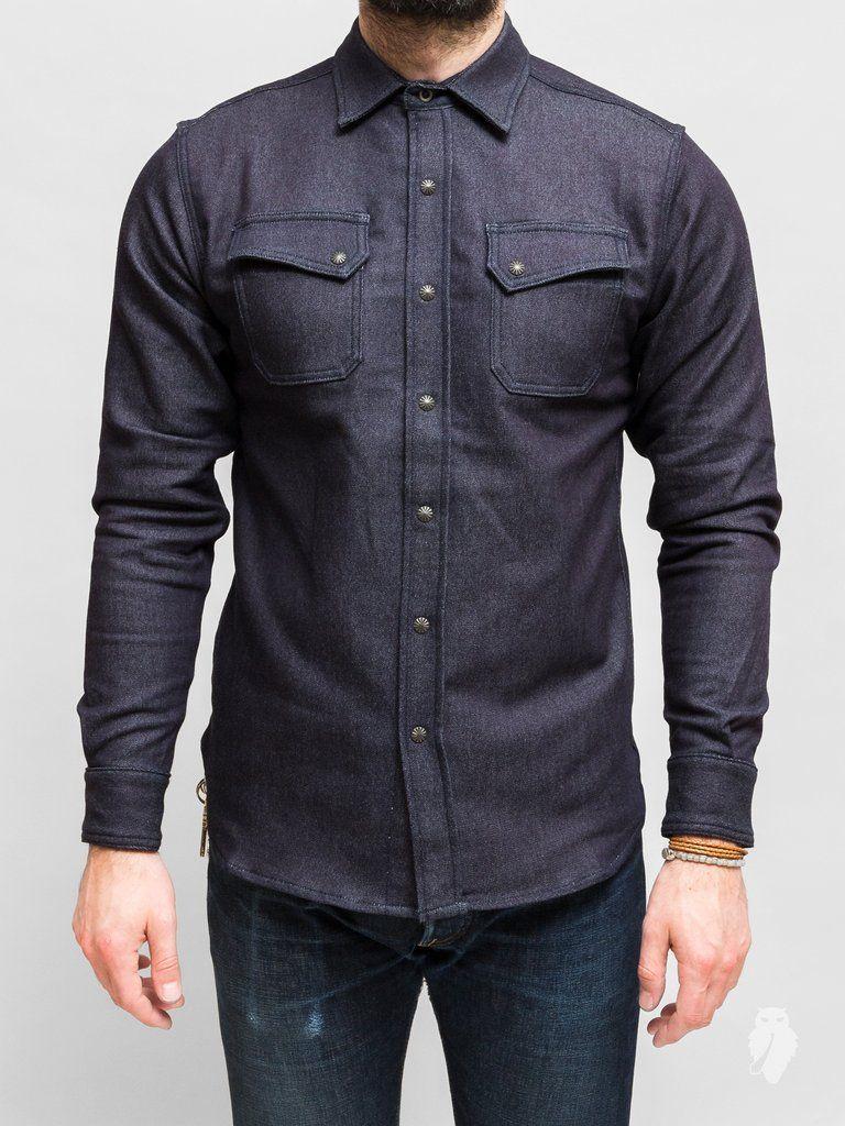9a36b45914d 3sixteen - crosscut flannel in indigo selvedge knit