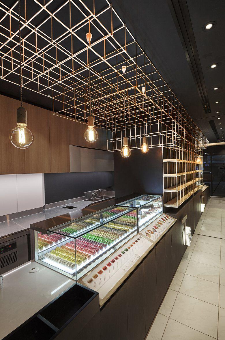 T By Luxbite Wala Cafe Interior Design Sushi Bar Design Bar Design Restaurant