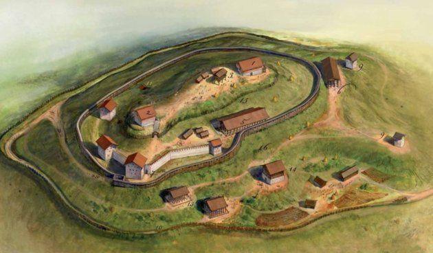 Dacian fortress Costesti, by Radu Oltean