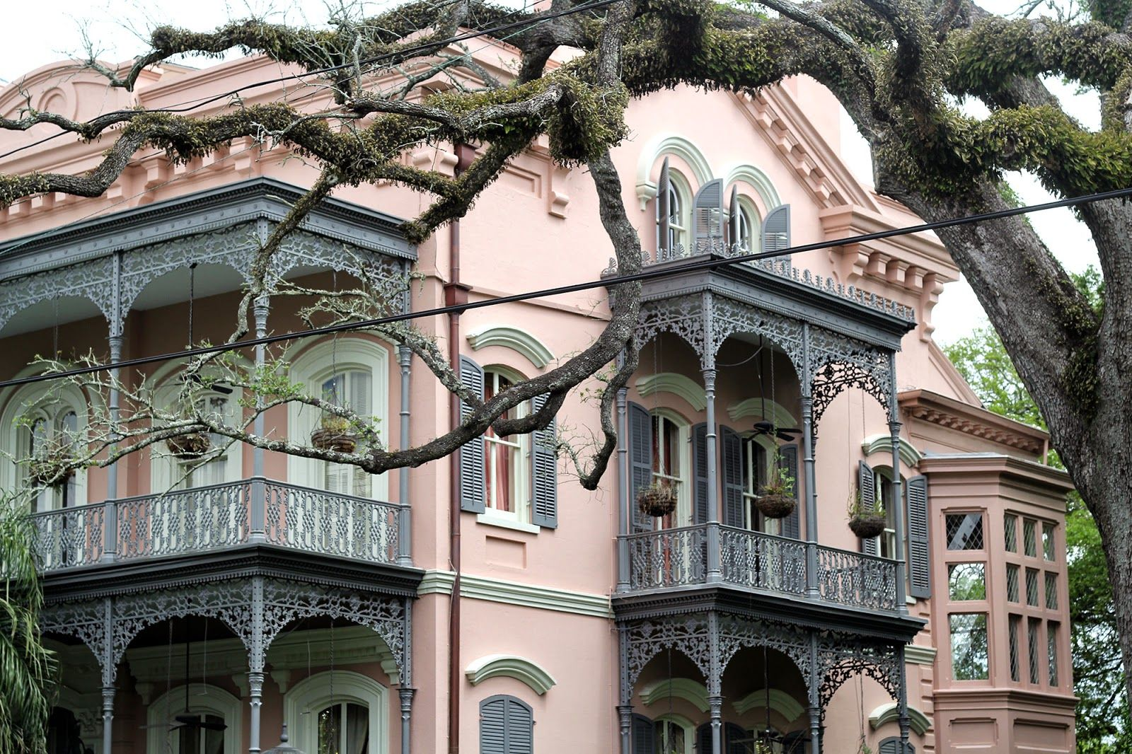 Joseph-Carrol House New Orleans: Part One - Frenchmen Street, The Garden District, The French Quarter and more
