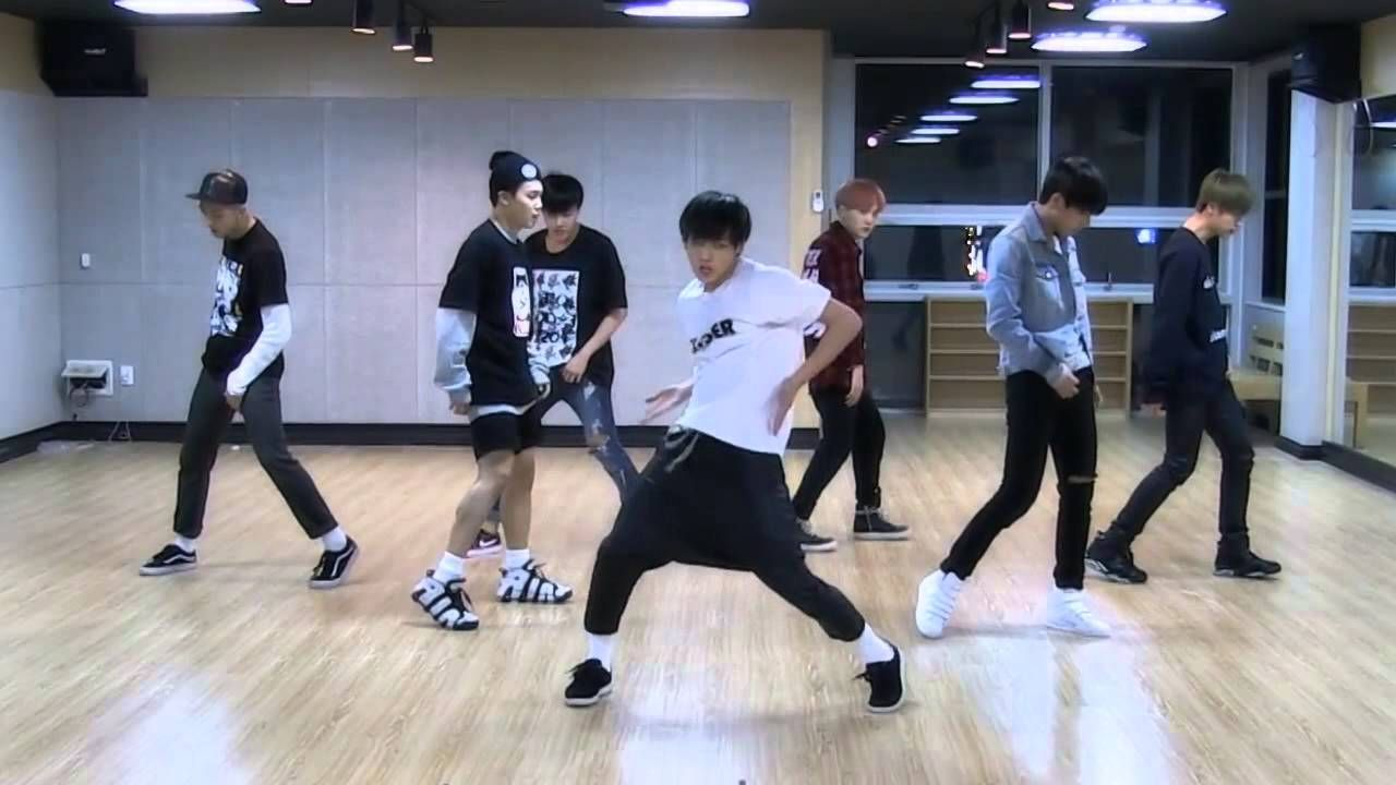 BTS 'I Need U' mirrored Dance Practice me and my sis are learning