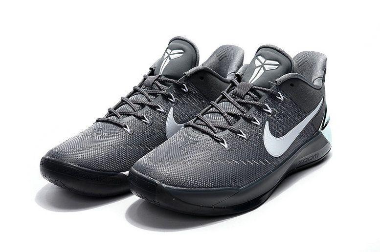 huge discount 7e3eb 67bfb Cheap Nike Kobe AD Ruthless Precision Cool Grey White Kobe Bryant Shoes 2017