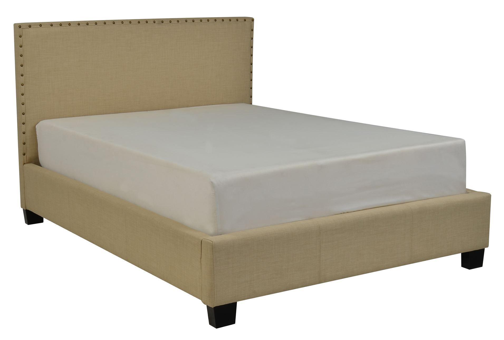 Lennox Eastern King Upholstered Platform Bed