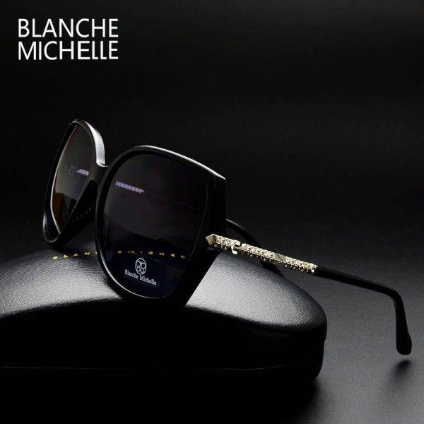 fb361657ec Luxury Women Sunglasses Vintage Fashion Big Female Sunglasses Polarized  Anti Reflective Shades For Women