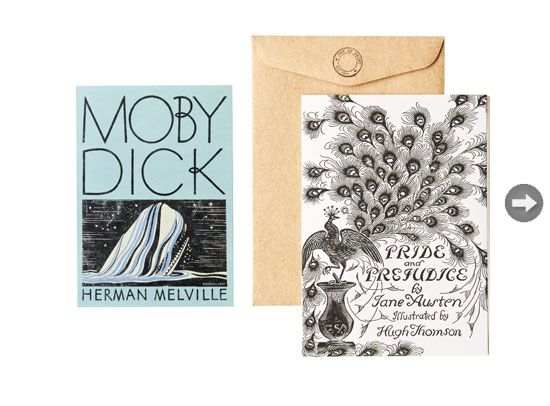 greeting cards featuring iconic book cover designs - outofprintclothing.com