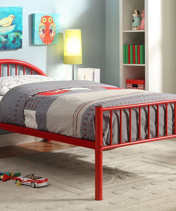 Look at this Red Arrie Full Panel Bed on #zulily today!