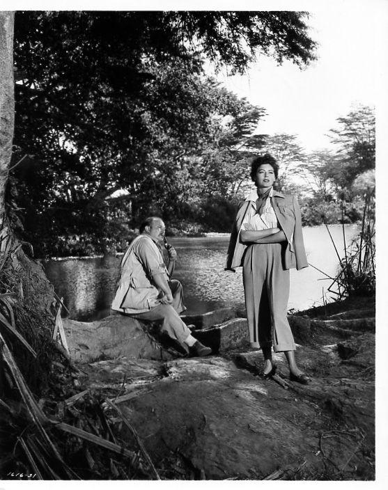 AVA GARDNER MOGAMBO 1953