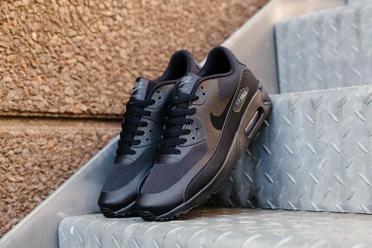 Nike Air Max 90 Ultra 2.0 Essential BlackDark Grey Men 's Shoe
