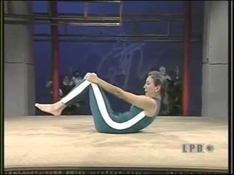 priscillas yoga stretches  episode 113 working stomach