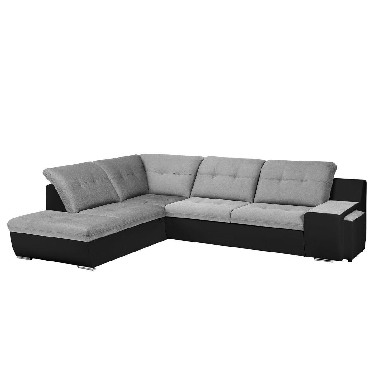 Gewaltig Sofa Mit Ottomane Und Schlaffunktion Beste Wahl Ecksofa New Rockford I Kunstleder/microfaser - -