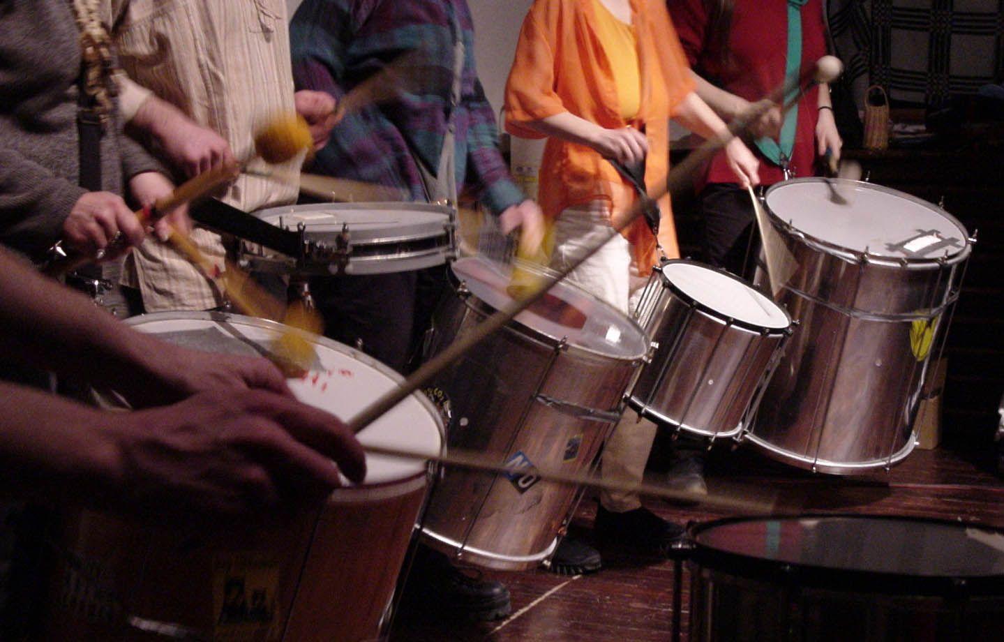 maracatu drums