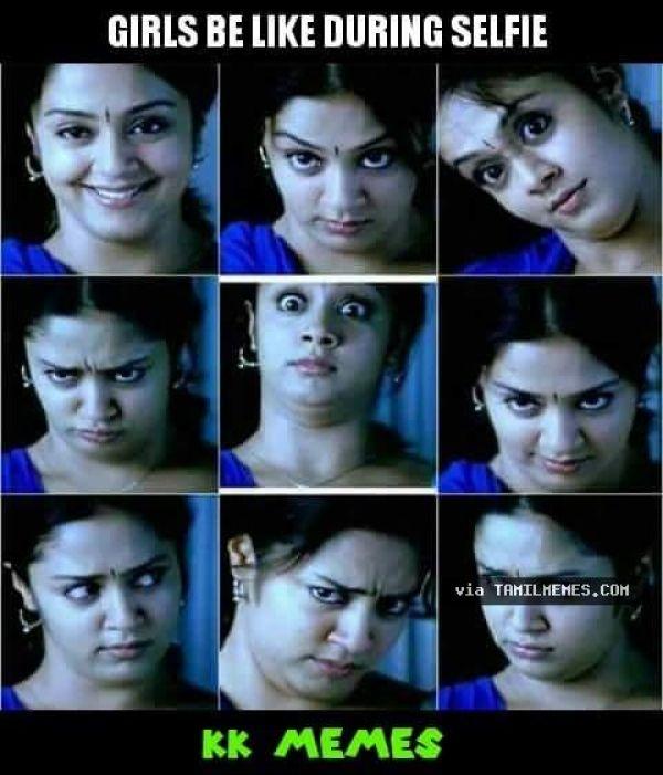 Girls And Selfies Tamil Comedy Memes Jokes Vadivelu Best