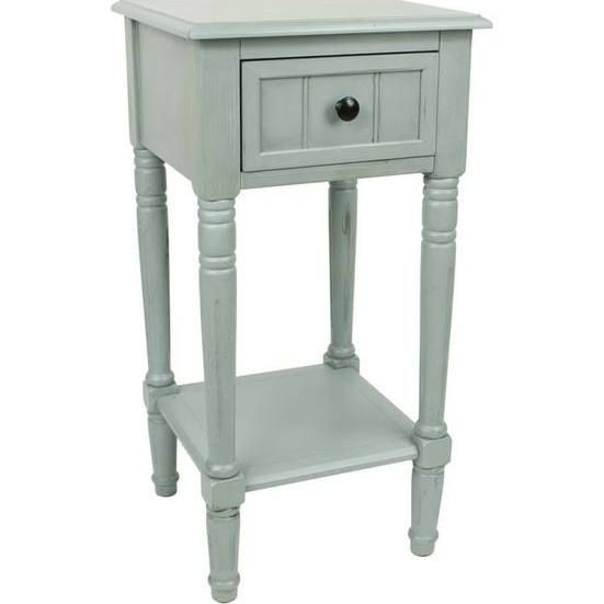 12 Wide Nightstand Square Accent Tables Decor Therapy Accent Table