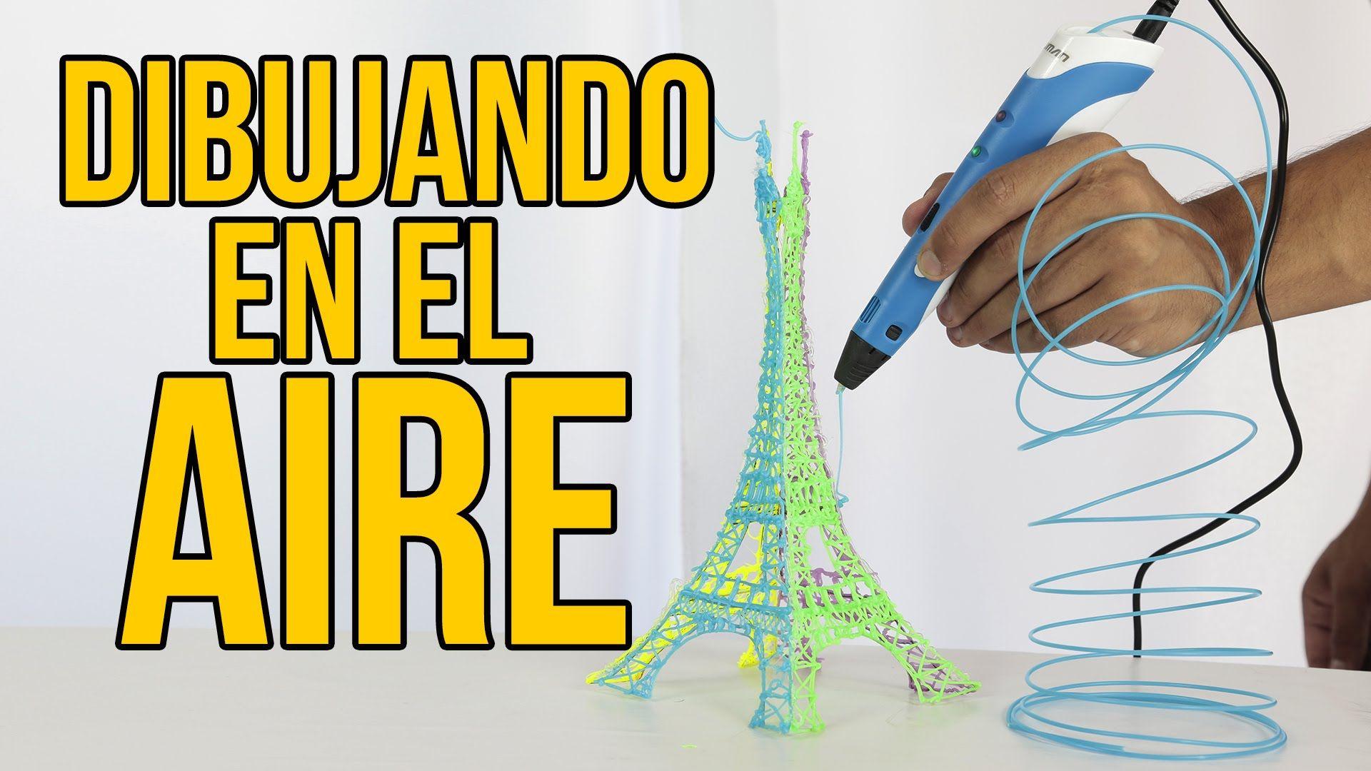 Como Dibujar En El Aire Lapiz 3d Merece La Pena Experimentos Caseros Experimentos Como Dibujar En El Aire
