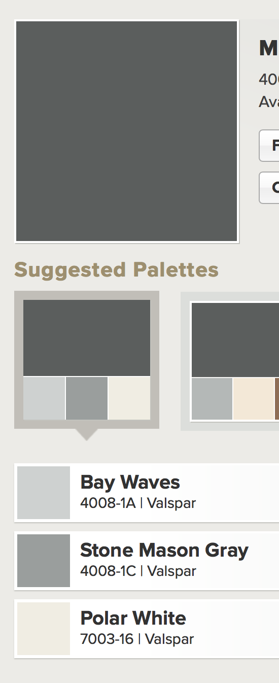 pin by michele clarke on paint colors i love paint on valspar paint color chart palettes id=53660