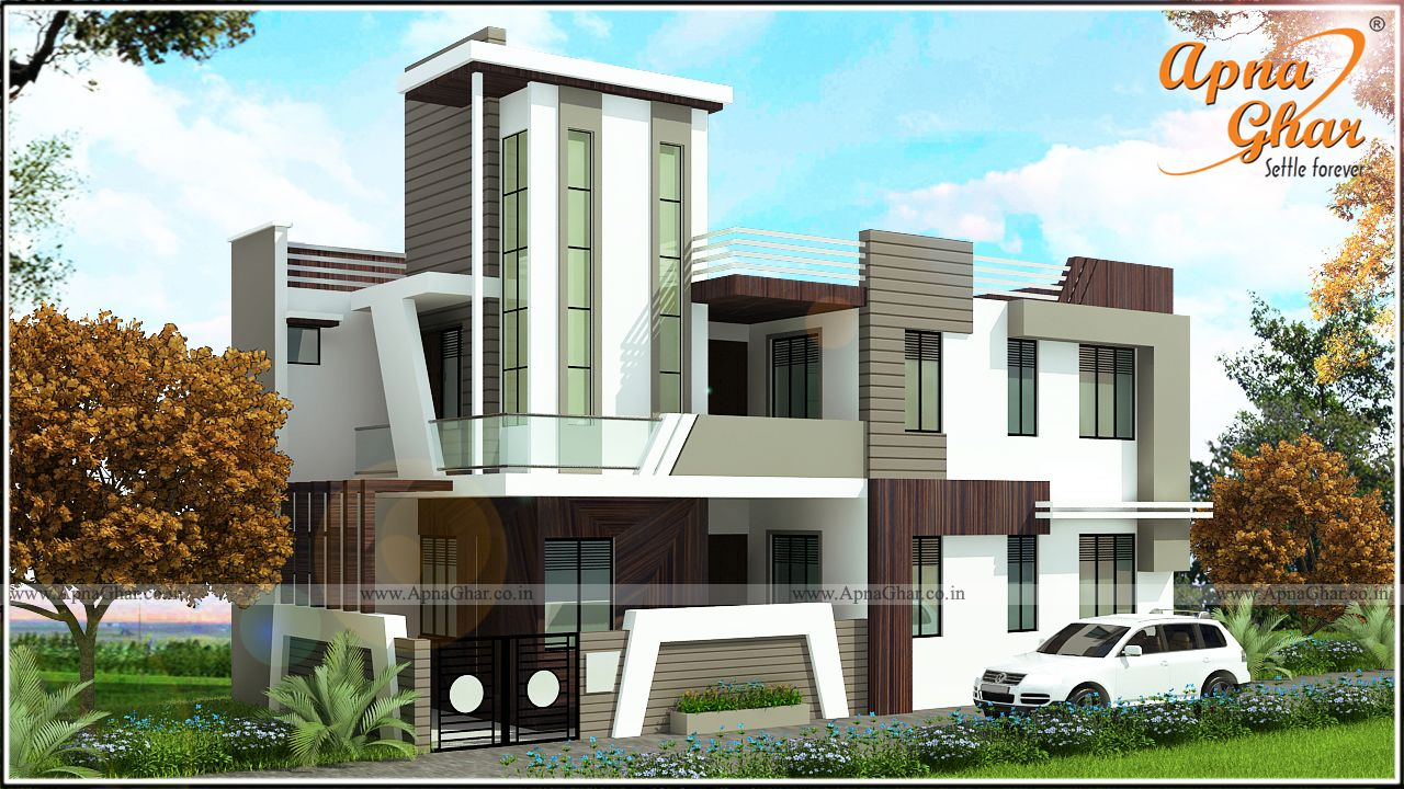 Beautiful Independent House Over Limited Space : 2 Bedrooms Independent  Floor Design In 105m2 (15m