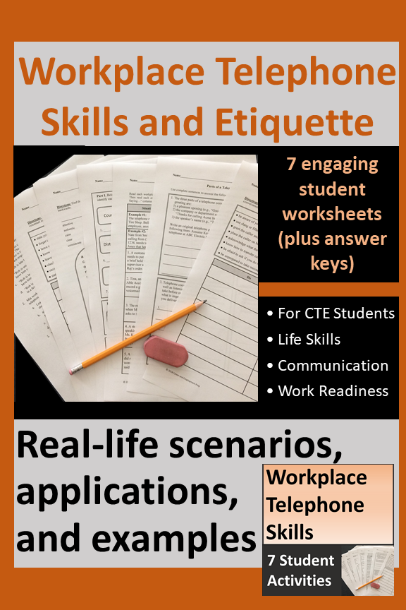 Workplace Telephone Skills And Etiquette Distance Learning