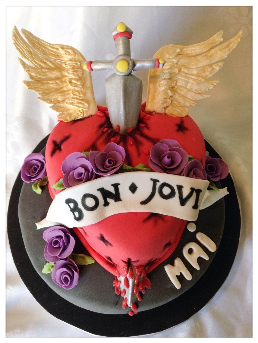 New Jon Bon Jovi ribbon for cake decorating