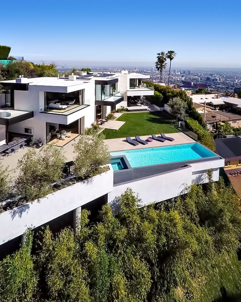 Los Angeles California Homes: Luxurious Los Angeles Sunset Strip Mansion With